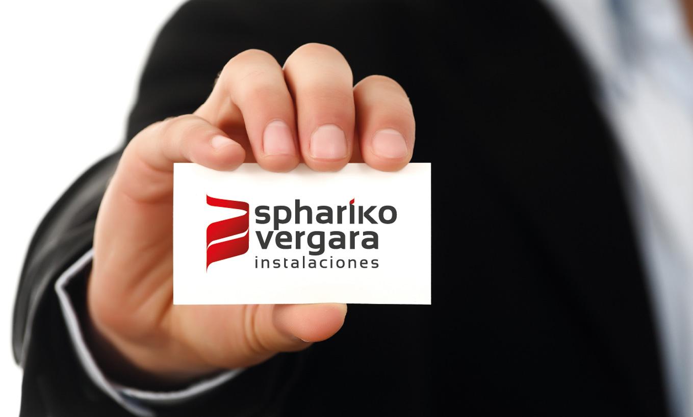 Diseño imagen y aplicaciones para SPHARIKO VERGARA