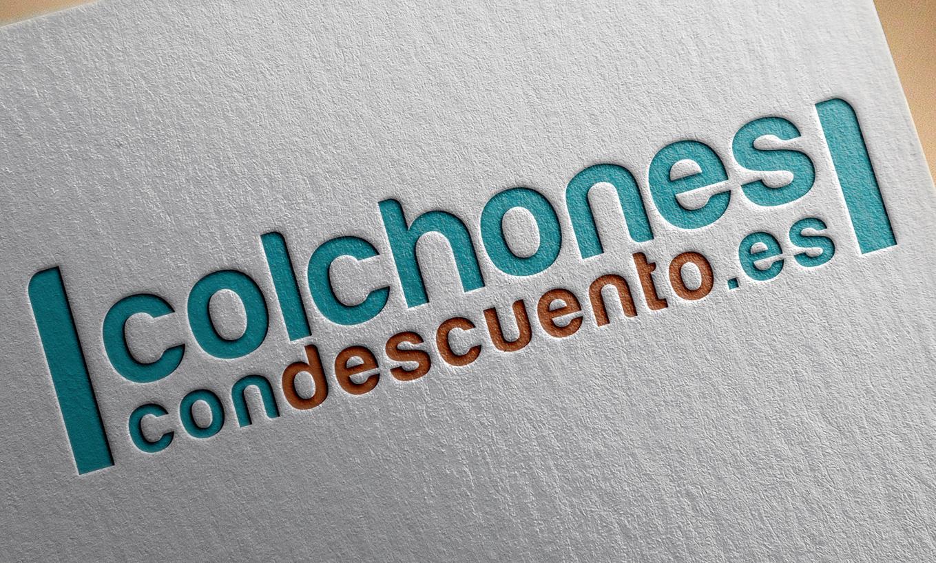 diseño de marca Colchonescondescuento.es por AN Publicidad