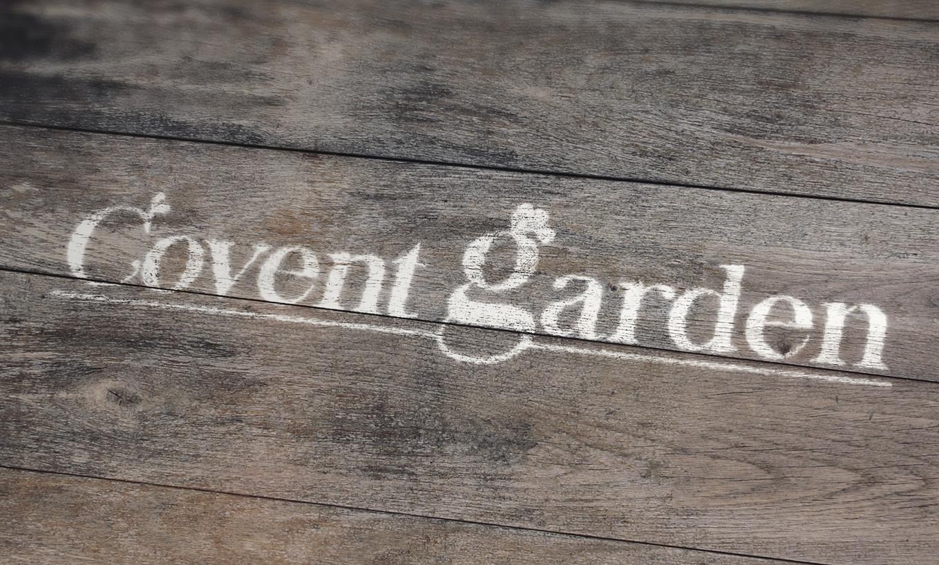 Diseño de imagen para Covent Garden