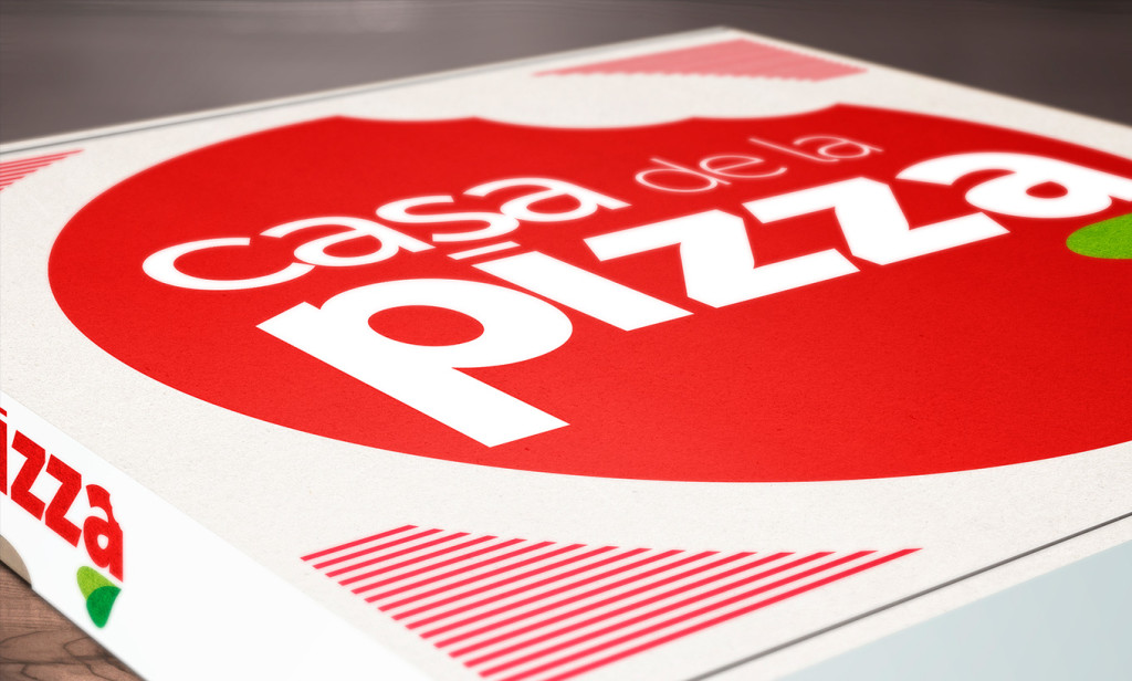 packaging casa de la pizza - AN Publicidad