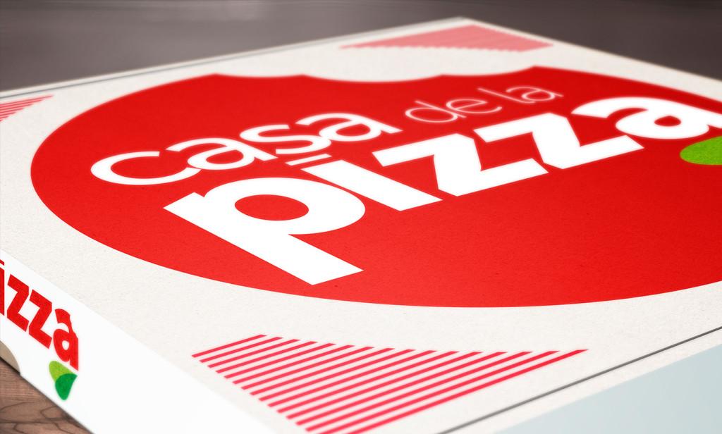 packaging casa de la pizza - AN Publicidad