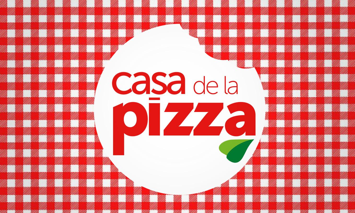 Imagen corporativa Casa de la Pizza