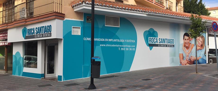 Rediseño de fachadas en establecimientos de atención al público