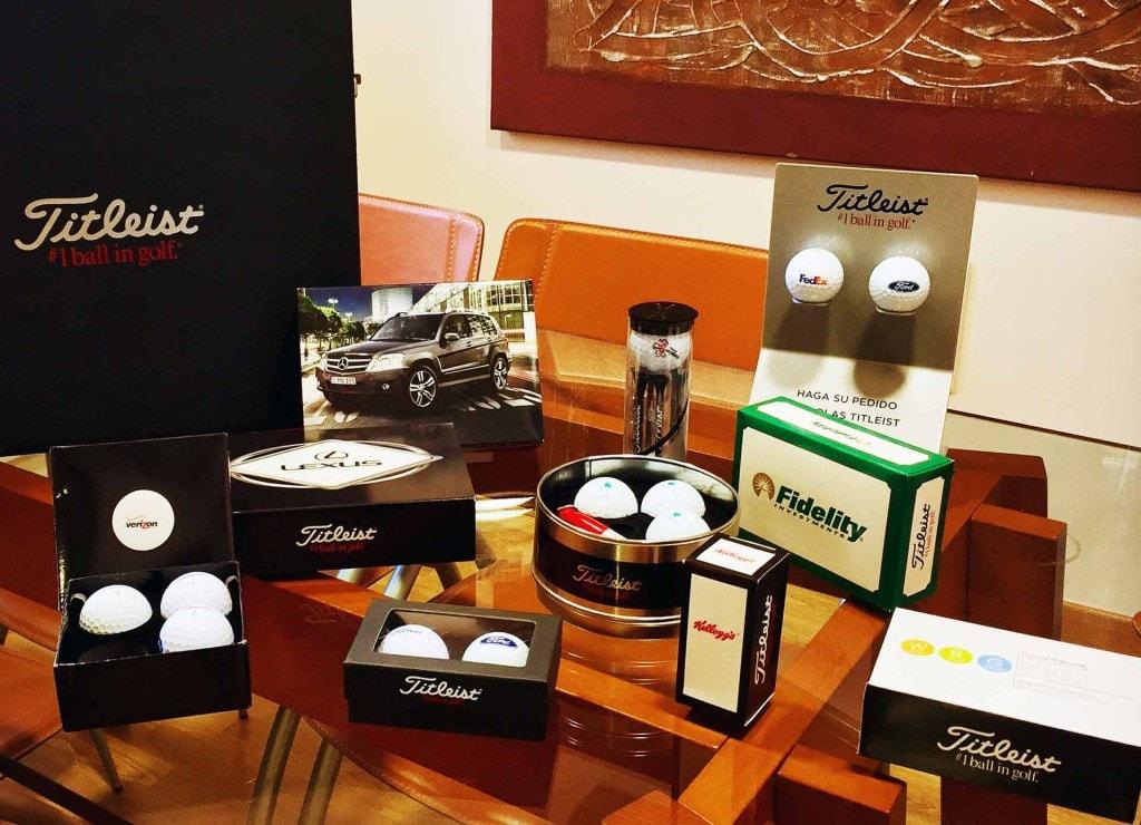 Bolas de golf personalizadas - AN Publicidad