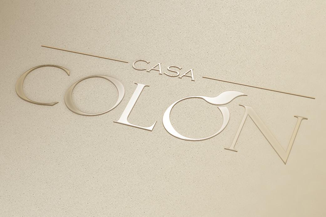 diseño marca CASA COLÓN