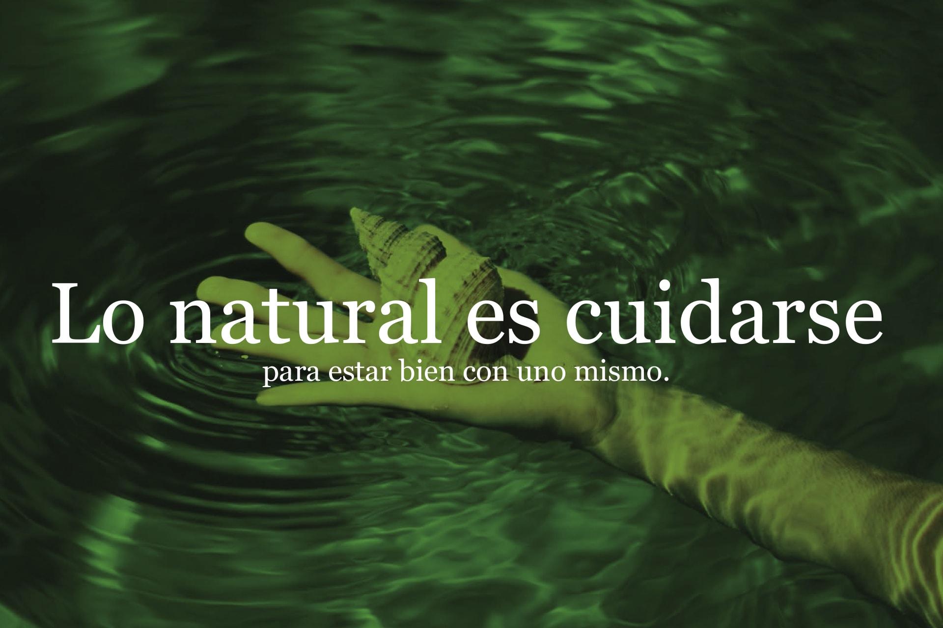 Diseño de imagen de marca para Naturalness Wellness Experience