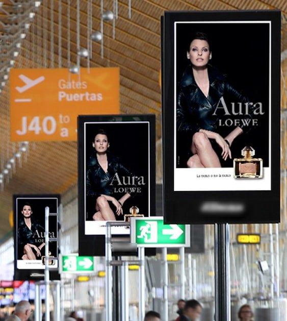 Publicidad en aeropuertos con An Publicidad