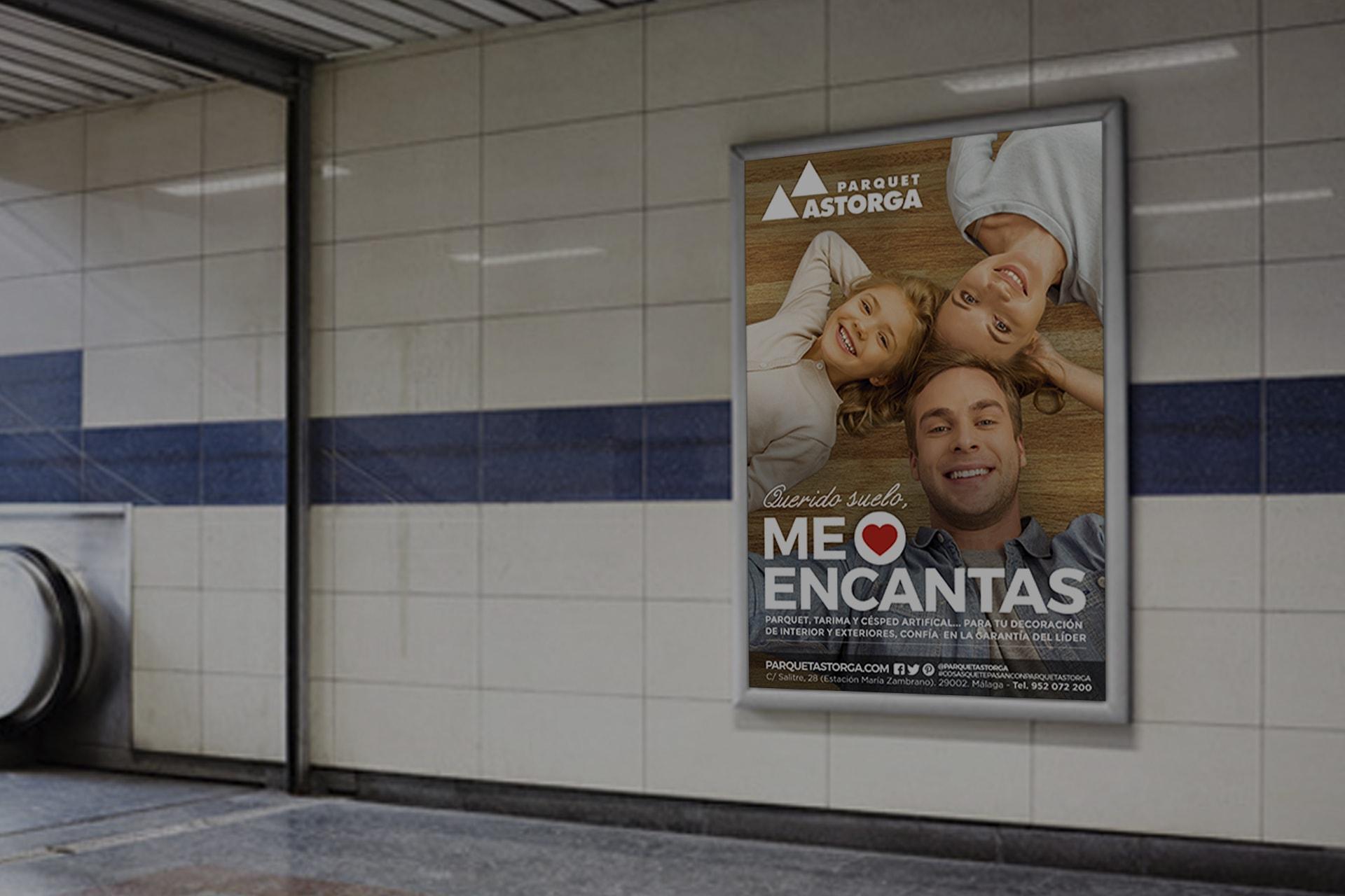 creatividad campaña Astorga- diseño de mobiliario urbano- An Publicidad