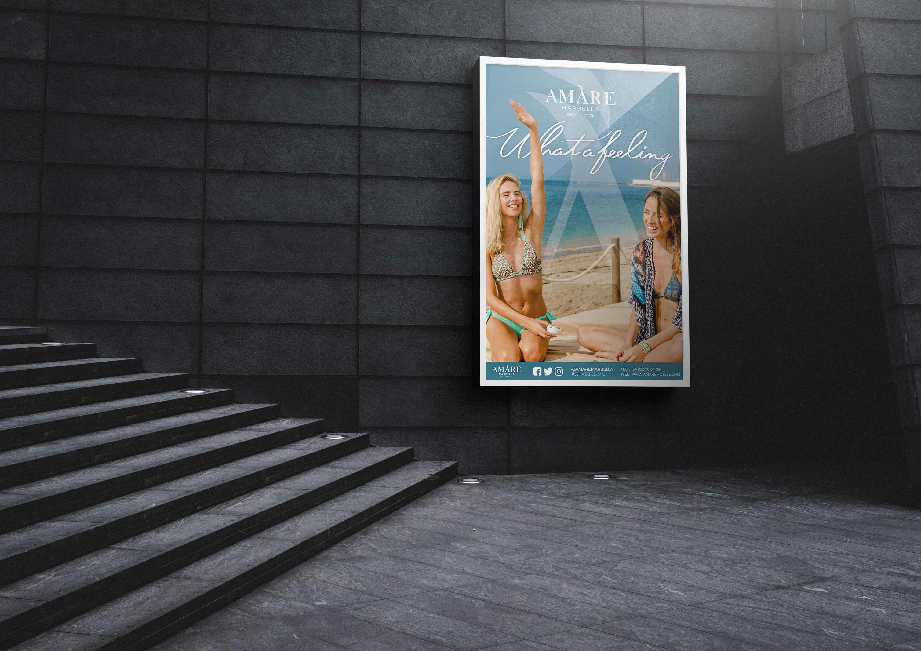 Diseño y contratación de campaña Ave y Metro Madrid by Anpublicidad