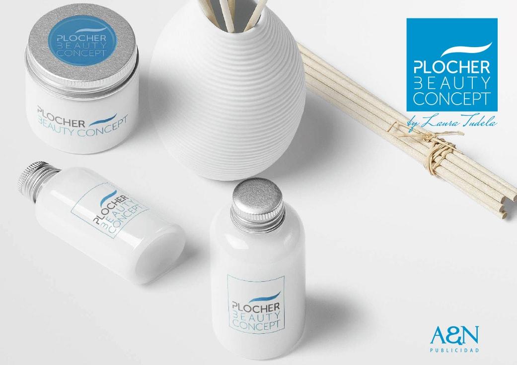 Diseño imagen corporativa Plocher by Anpublicidad