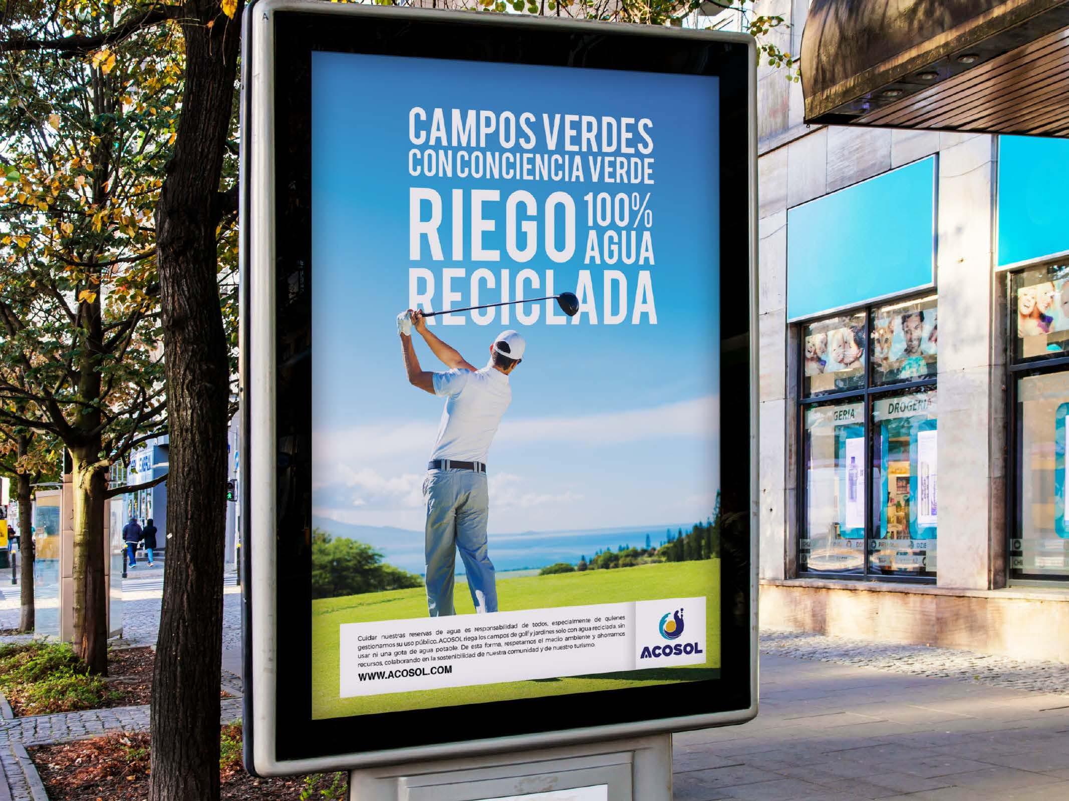 Diseño campaña Acosol por Anpublicidad - Fuengirola
