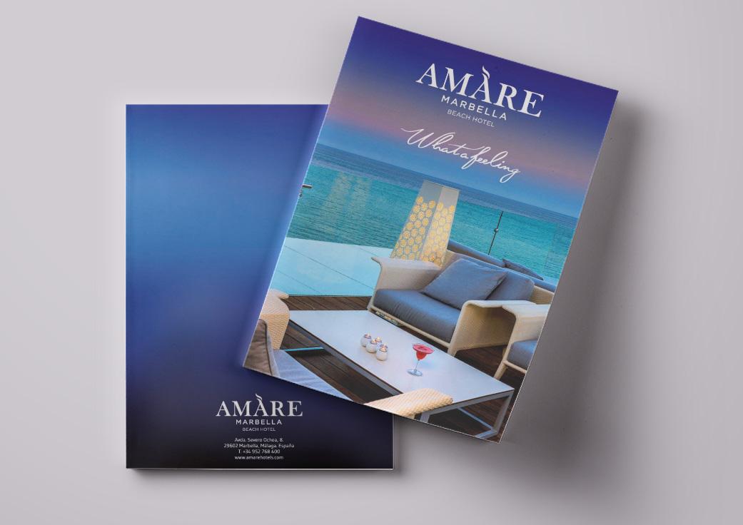 Diseño directorio Hotel Amare Marbella
