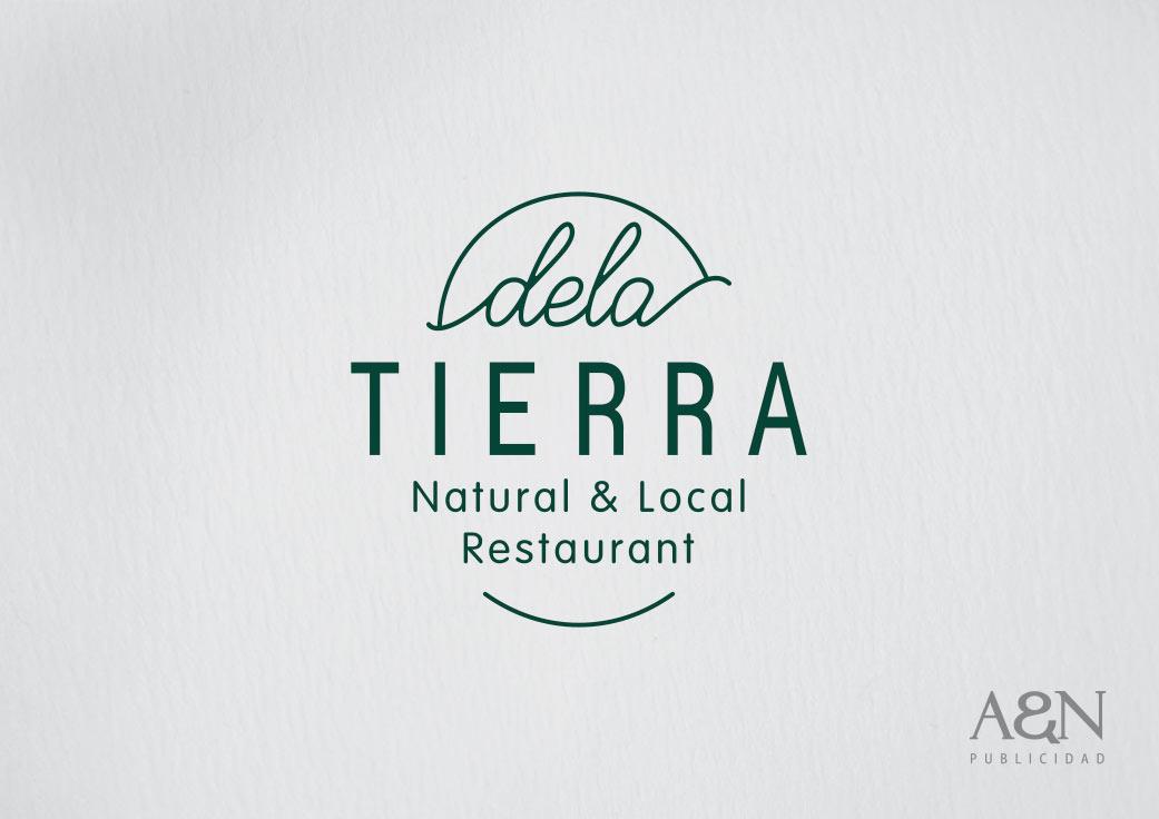 Creación de Imagen para restaurante DelaTierra por AnPublicidad