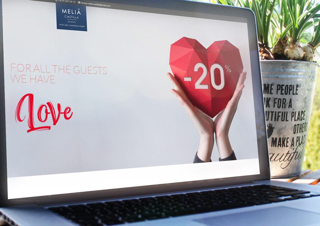 diseño campaña mailing san valenting - Anpublicidad Agencia publicidad Málaga