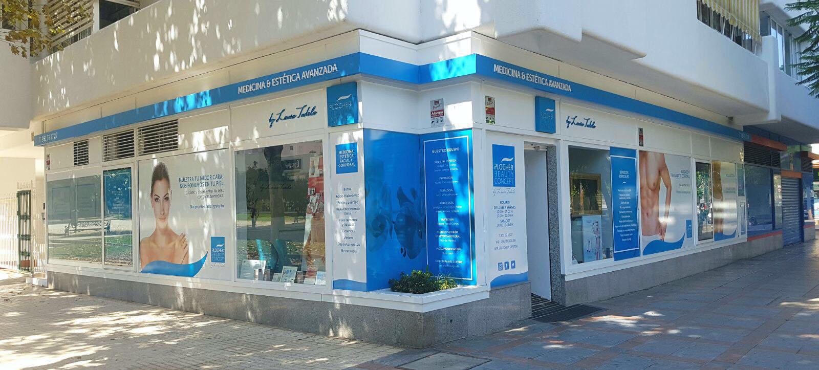 Diseño fachada Clínica Beuty Plocher by An Publicidad