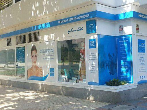Diseño fachada Clinica Plocher