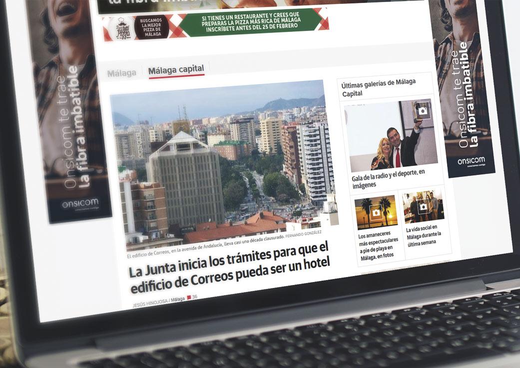Campaña publicidad Onsicom by Anpublicidad