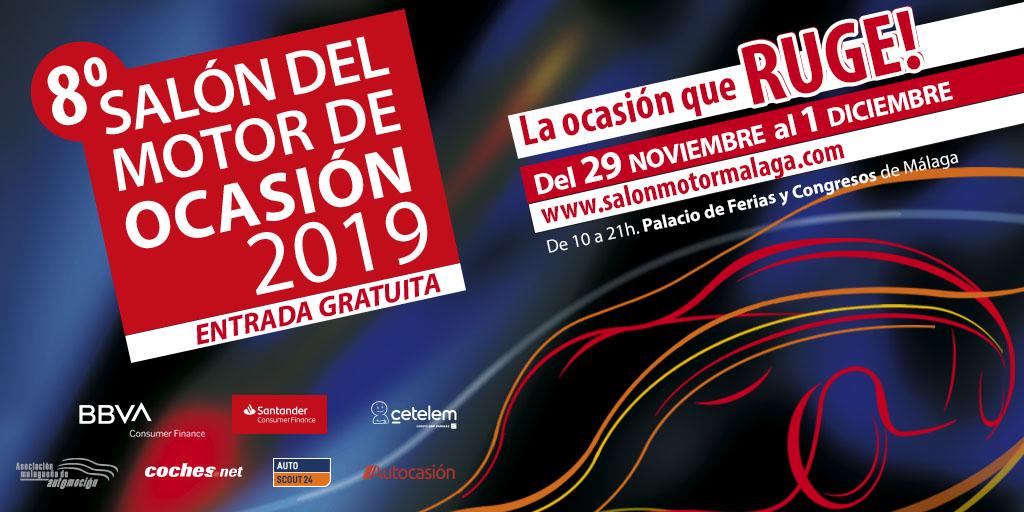 Campaña 8º Salón del Motor de Ocasión de Málaga