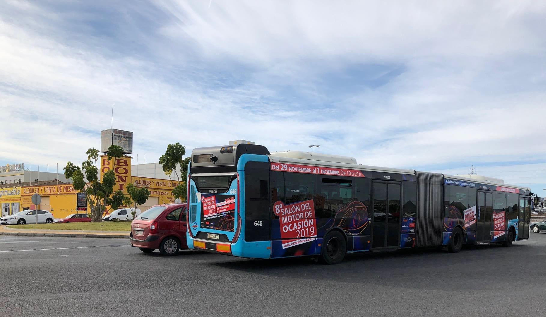campaña publicidad exterior 360º Salon del motor 2019 Autobús publicitario