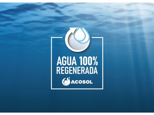 Diseño Imagen Sello Agua 100% Reciclada