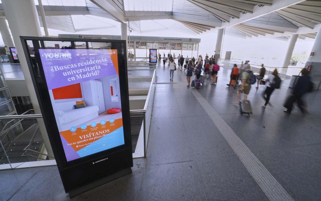 Publicidad Estación de Atocha – Youniq