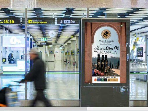 Mupis en aeropuerto Consejo Regulador Montes de Granada